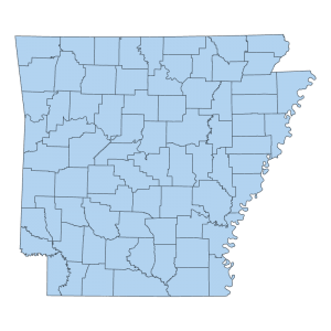 AHTD County Boundary