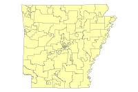 AR House District- 2010 Census