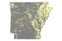 Landcover GAP100HA 1993 (polygon)