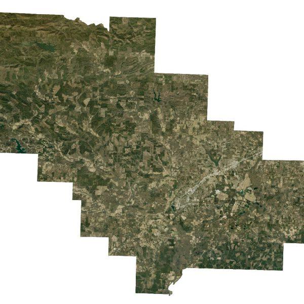 Saline County: 1 foot Orthos 2015 (Raster)