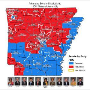 Senate District Maps (90th General Assembly: 2015)
