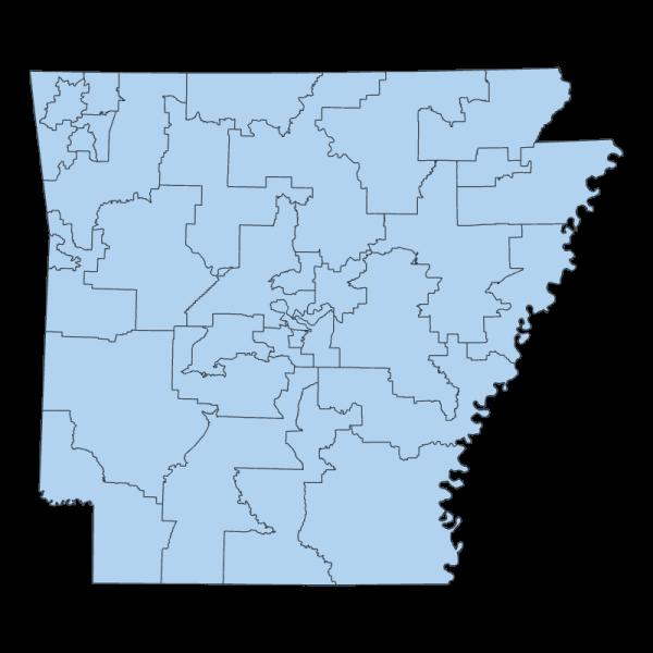 2011 Senate Districts