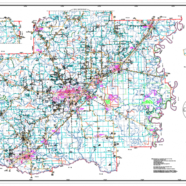 AHTD Current Maps
