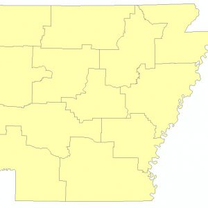 Arkansas State Police Highway Patrol Troop Boundaries (polygon)
