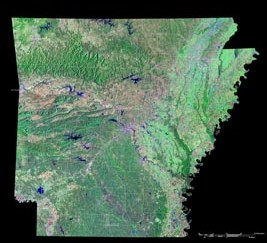 Bradley County: 1 meter Orthos 2012 (raster)