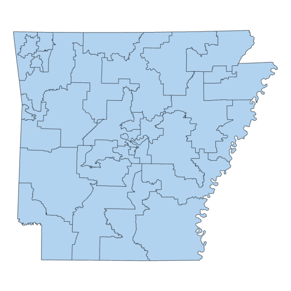 2011 Senate Districts